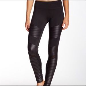 Electric Yoga Moto Motorcycle Leggings